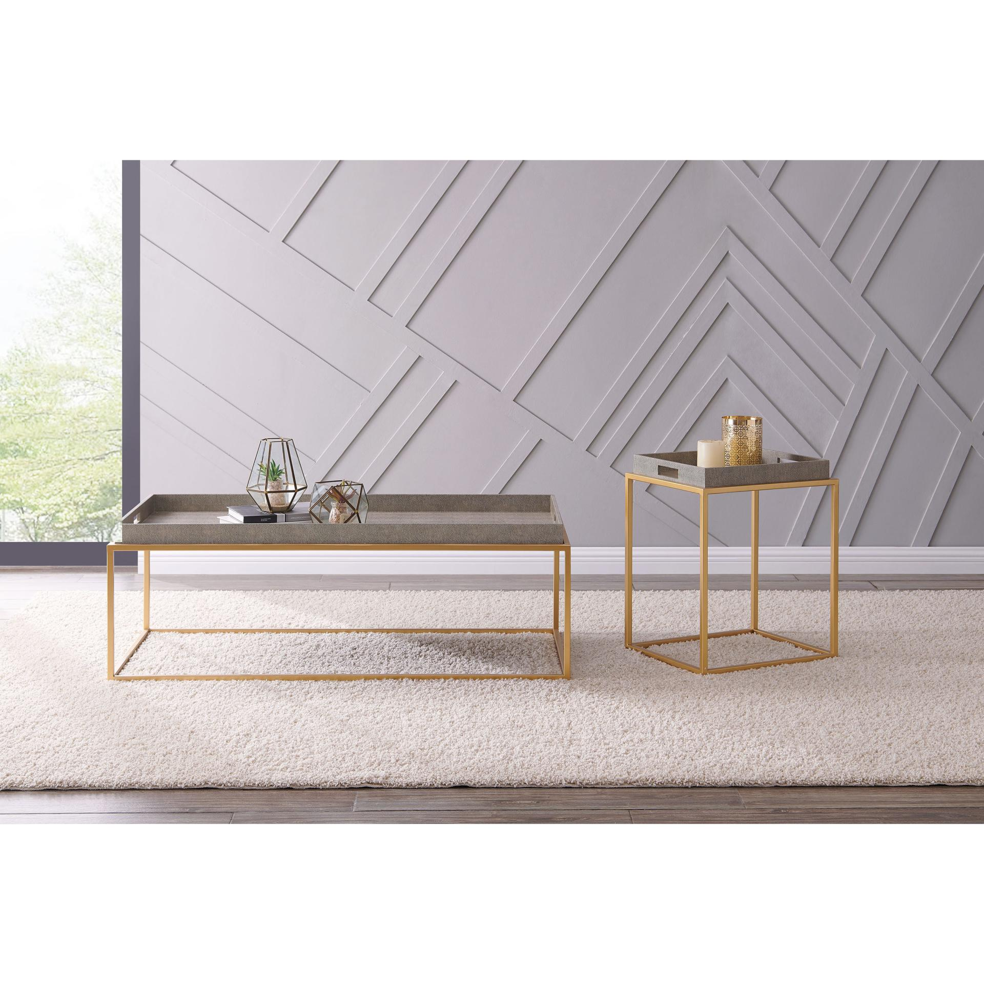 Shagreen Coffee Table Tray: Wholesale Lifestyle Furnishings