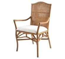 Lilou Rattan Arm Chair, Honey *NEW*/2400021-HO