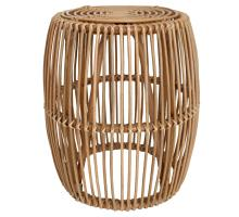 Keegan Rattan End Table, Honey/4900016
