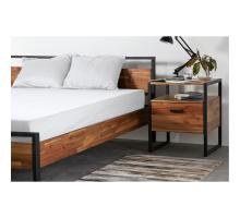 Zachary KD Queen Bed Set, Natural *NEW*/8000057