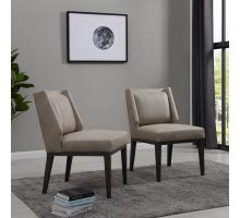 Ethan PU Dining Chair, Devore Gray *NEW*/9900034-278