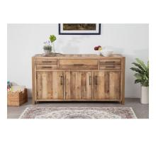 Bianco Buffet with 5 Drawers + 3 Doors, Rustic Tuscan/1170005