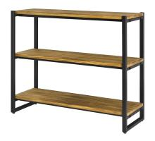 Anderson KD 3 Tier  Bookcase, Brown/9300060