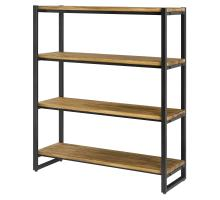 Anderson KD 4 Tier  Bookcase, Brown/9300061