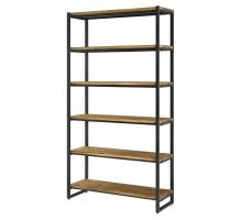 Anderson KD 6 Tier  Bookcase, Brown/9300062