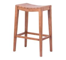 Elmo Wooden Bar Stool, Amber/6600011