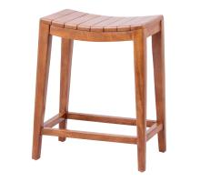 Elmo Wooden Counter Stool, Amber/6600012