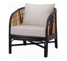 Ferrara Rattan Accent Chair, Black/ Natural/7400030