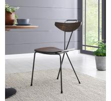 Wagner KD Metal Chair, Walnut *NEW*/9300067