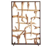 Soleil Reclaimed Teak Root Divider, Natural/9600032