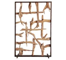 Soleil Reclaimed Teak Root Divider, Natural *NEW*/9600032