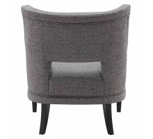 Eugene KD Fabric Accent Chair, Century Gray/9900054-331