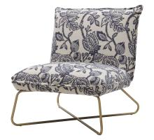 Yukon Fabric Accent Chair, Azure Floral *NEW*/9900056-516