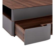 Marcus Square Coffee Table w/ Storage, Walnut/Dark Gray *NEW*/1030023