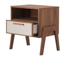Heaton KD Side Table 1 Drawer, Walnut (ASSEMBLY REQUIRED)/1340010