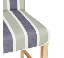 Milton Fabric Counter Stool NWO Legs, Hurley Stripe Blue/1900129-379
