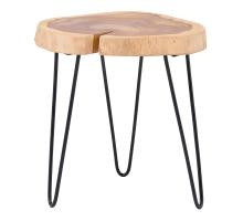 Ares KD Teak End Table, Natural *NEW*/2400030