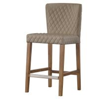 Albie KD Diamond Stitching PU Counter Stool, Danburry Dune *NEW*/3900054-343