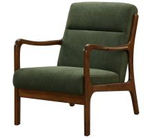 Anton KD Arm Chair Dark Walnut Frame, Studio Dark Green *NEW*/1320004-504