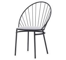 Phoenix Velvet Fabric Metal Chair, Gallery Gray *NEW*/9300069-514
