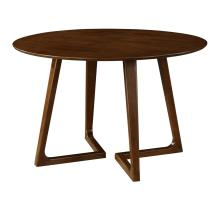 Paddington KD Round Dining Table, Dark Walnut *NEW*/1320005