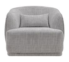 Steward Fabric Swivel Chair, Squarespace Gray *NEW*/1900150-409