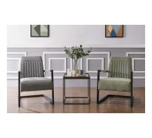 Jonah KD Fabric Arm Chair, Sage Green/Velvet Green/1060015-4224