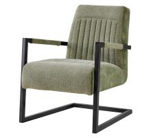 Jonah KD Fabric Arm Chair, Sage Green/Velvet Green *NEW*/1060015-4224