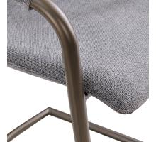Indy Fabric Counter Stool Silver Frame, Sage Gray/Velvet Gray *NEW*/1060017-4225