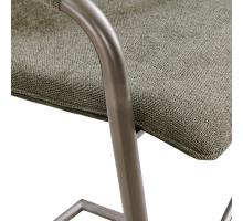 Indy Fabric Bar Stool Silver Frame, Sage Green/Velvet Green *NEW*/1060018-4224