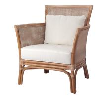 Tatum Rattan Accent Chair, Canary Brown *NEW*/2400035