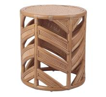 Zurich Rattan End Table, Canary Brown *NEW*/4900028