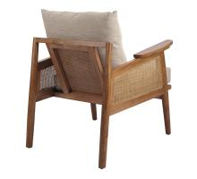 Teramo Rattan Accent Arm Chair, Mid Brown/4900036