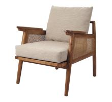 Teramo Rattan Accent Chair, Mid Brown *NEW*/4900036