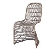 Groovy Rattan Chair, Gray *NEW*/6600010-G