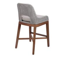Margot Rope Counter Stool, Gray *NEW*/7400037