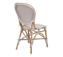 Leblanc Paris Bistro Chair, White/ Gray *NEW*/7400039