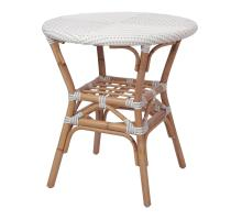 Orleans Paris Bistro Table, White/ Gray *NEW*/7400040