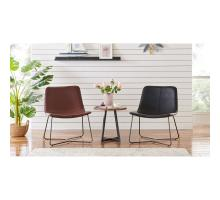 Zuma KD PU Accent Chair, Mission Brown *NEW*/9300077-533