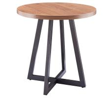 Courtdale KD Round End Table, Gliese Brown/9300079-546