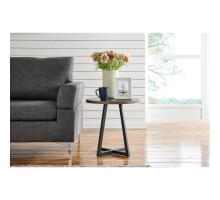 Courtdale KD Round End Table, Black *NEW*/9300079-547