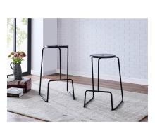 Napa Metal Counter Stool, Metallic Gunmetal *NEW*/9300083