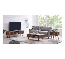 Wilson KD Slat Coffee Table, Walnut (ASSEMBLY REQUIRED)/1340005