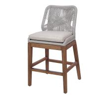 Matisse Rope Counter Stool, Gray/7400033