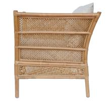 Esai Rattan Accent Arm Chair, Canary Brown *NEW*/7400049-CB