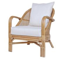 Whitney Rattan Accent Arm Chair, Canary Brown *NEW*/7400050-CB