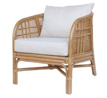 Ferrara Rattan Accent Arm Chair, Canary Brown *NEW*/7400053-CB