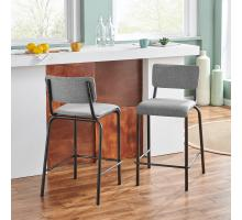 Lehman KD Fabric Counter Stool/9300099-530