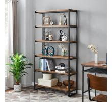 Anderson KD 6 Tier Bookcase, Gliese Brown *NEW*/9300107