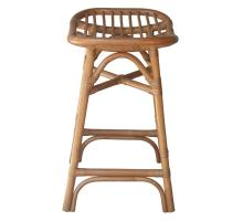 Damara Rattan Counter Stool, Canary Brown *NEW*/2400038-CB